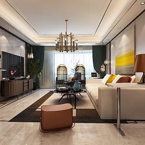客厅简约明亮的客厅