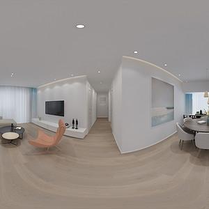 客厅装修效果图-现代简约风格装饰设计