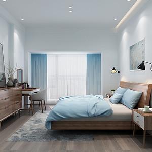 卧室装修效果图-现代简约风格装饰设计