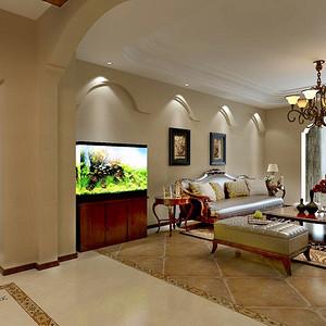 盛世嘉华--客厅装修效果图