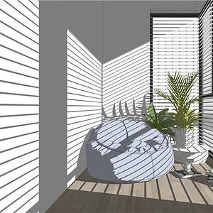 碧云花园220㎡现代简约装修效果图
