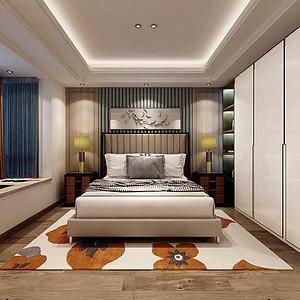 新中式风格卧室装修设计
