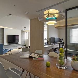 华贸公寓-现代简约-180平米