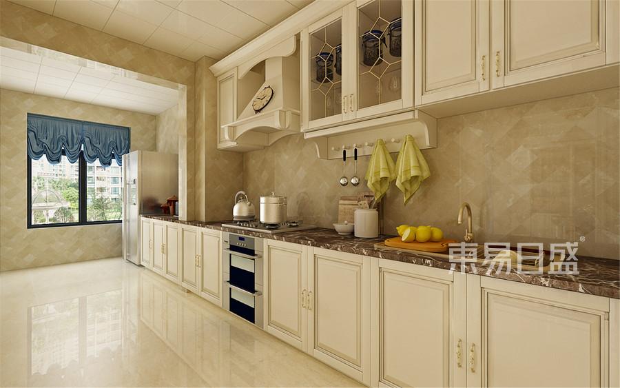 210平雅颂居欧式古典风格效厨房装修效果图