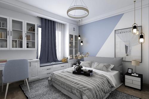 兰高嘉园120平三居室轻奢风格装修效果图