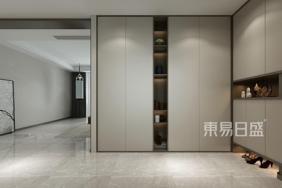 现代简约风格玄关装修设计