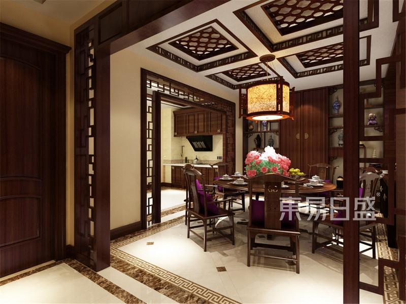 新中式 - 海逸长洲中式风格餐厅装修效果图