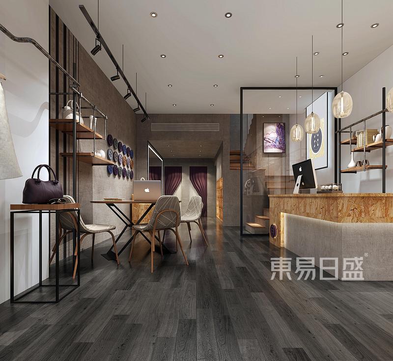首页 室内装修效果图 > 厚街-会所-loft-前台