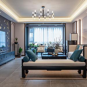 【实景图】新浦花园新中式风格180平方平层