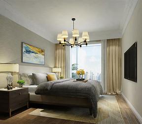 青塔中街 小温馨 卧室效果图