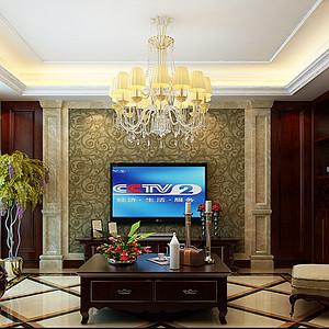星河御城四室两厅欧式风格装修案例