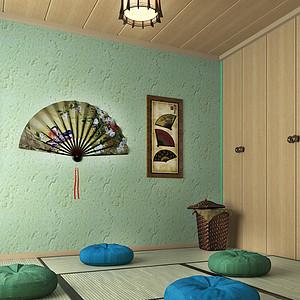 远洋公馆_现代简约_负一层榻榻米室