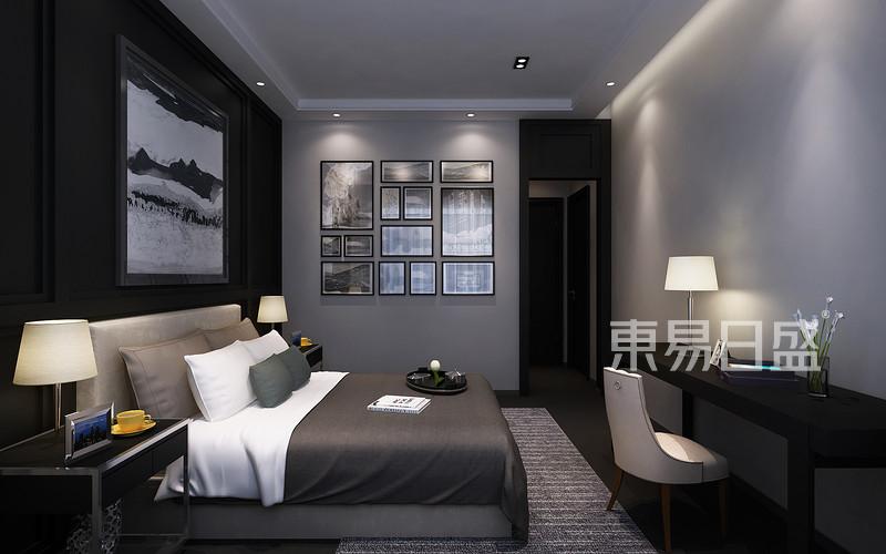 首页 室内装修效果图 > 卧室已完美的黑白灰搭配   所属案例:海珀澜庭