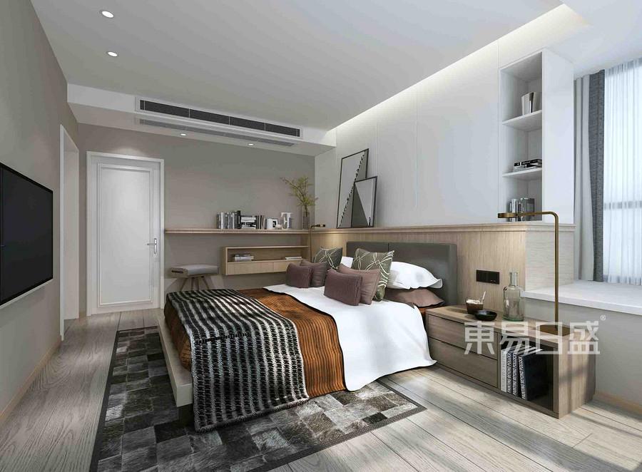 国奥村165平米北欧风格卧室装修效果图