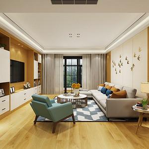 复地东湖国际七期现代风格171平米装修效果图