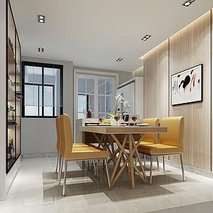 东城天骄御峰装修案例-157㎡现代简约四房二厅装修效果图