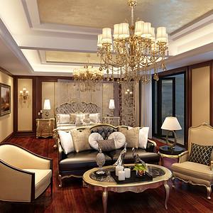 南湖国际450㎡别墅欧式古典风格