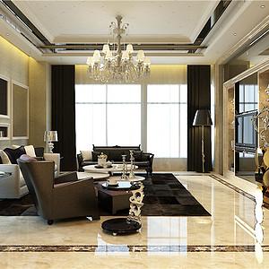 奥城天玺园-现代风格-600平
