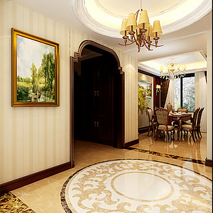 欧式风格-门厅-装修效果图