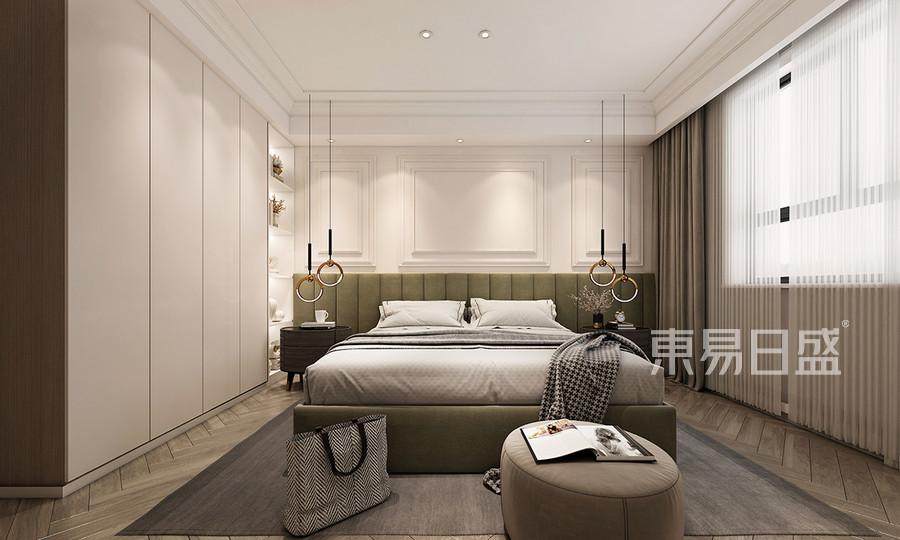现代轻奢风格卧室装修设计