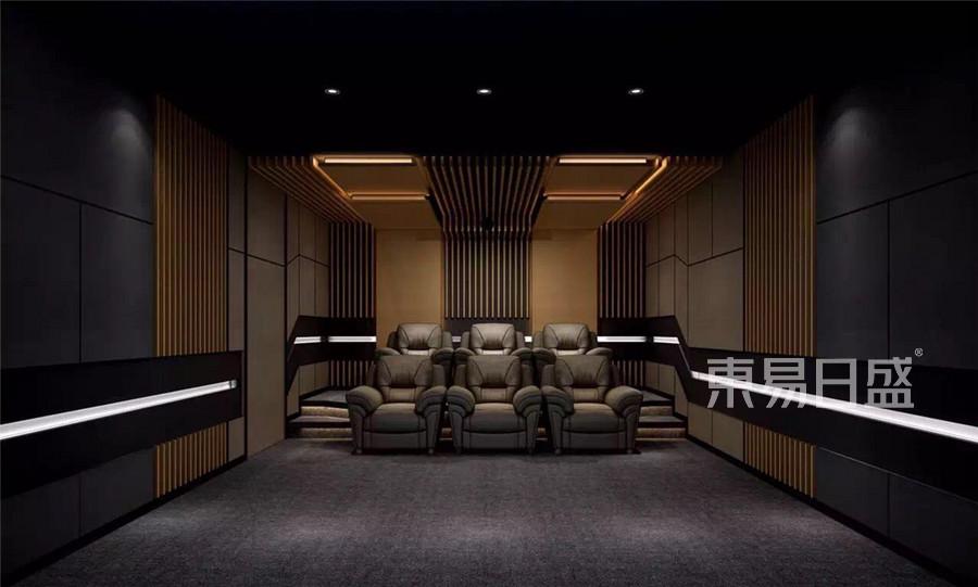 橡树湾新中式风格影音室装修效果图