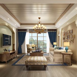 蓝庭国际 托斯卡纳风格 140平米