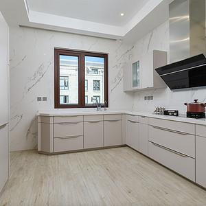枫丹壹号-现代简约风格-一层厨房
