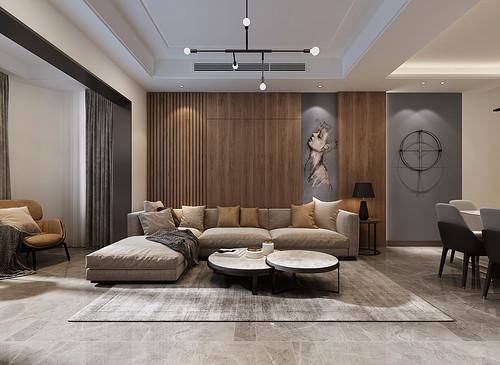 金融街官邸-现代风格-115平米