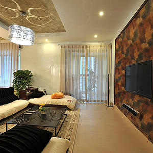 君悦香邸121平米现代简约风格