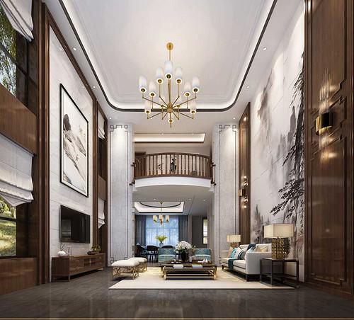 永和坊 新中式装修效果图 六室两厅两厨五卫 450㎡