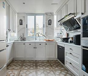 万科第五园-法式自然-厨房装修效果图