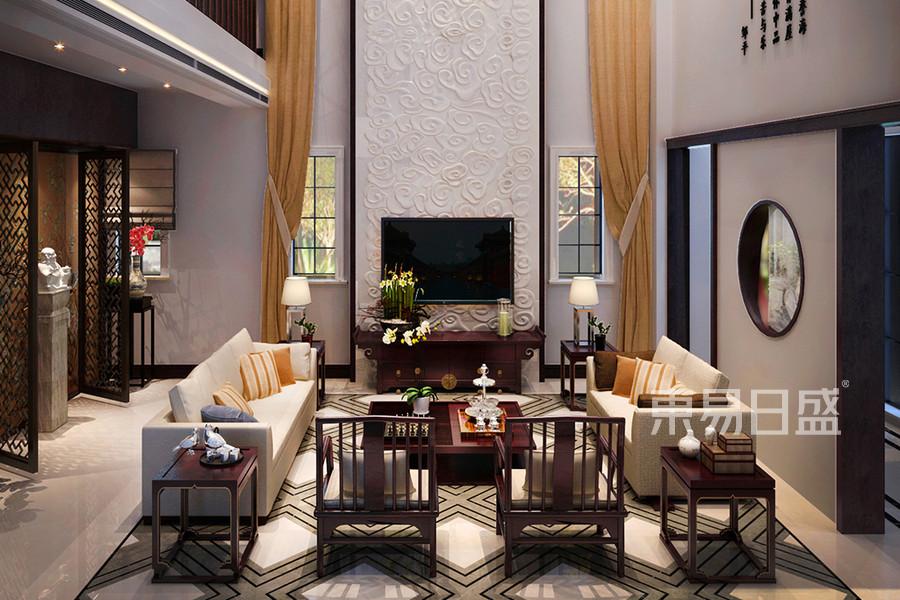 新中式风格-客厅