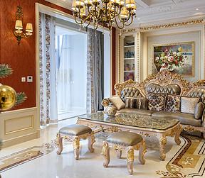华侨城-欧洲古典-客厅