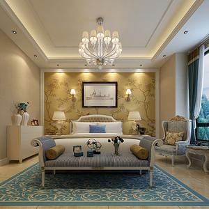 新美式风格卧室