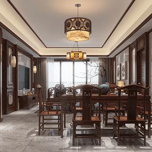 中式餐厅尽显贵族气质