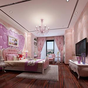 别墅儿童房装修效果图 新古典风格设计