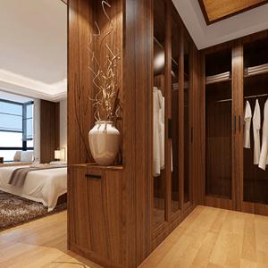 新中式卧室温馨雅致