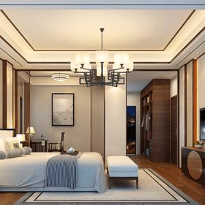 新中式卧室简约风格让整个空间充满雅韵