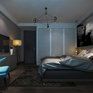 现代前卫-卧室