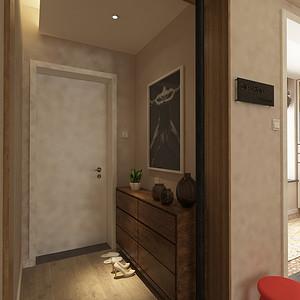 门厅三居室-北欧-装修效果图