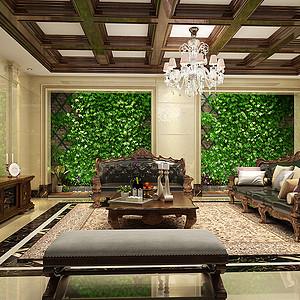 欧式古典风格客厅