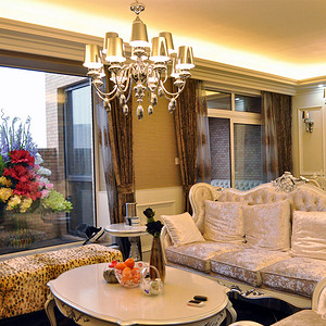 爱家国际简欧风格新房装修效果图