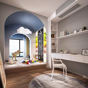 法式简约风格儿童房装修效果图