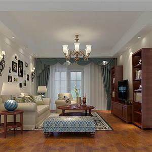 亿城堂庭-美式风格-150平米