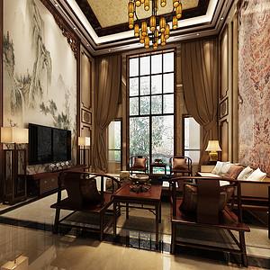 中海铂宫 新中式风格 八室五厅 500㎡
