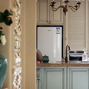 别墅厨房装修实景图