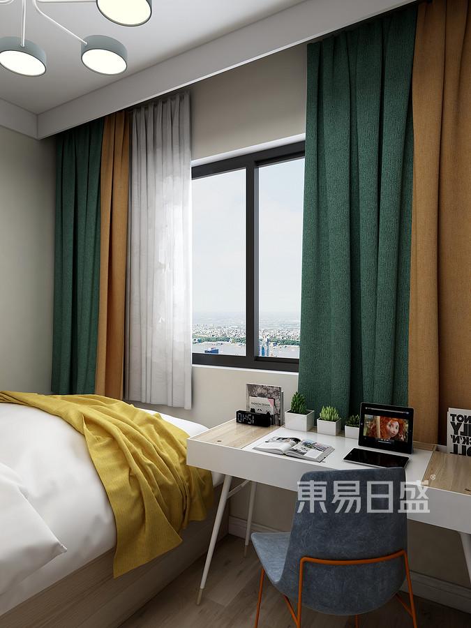 中海广场现代简约风格儿童房装修效果图