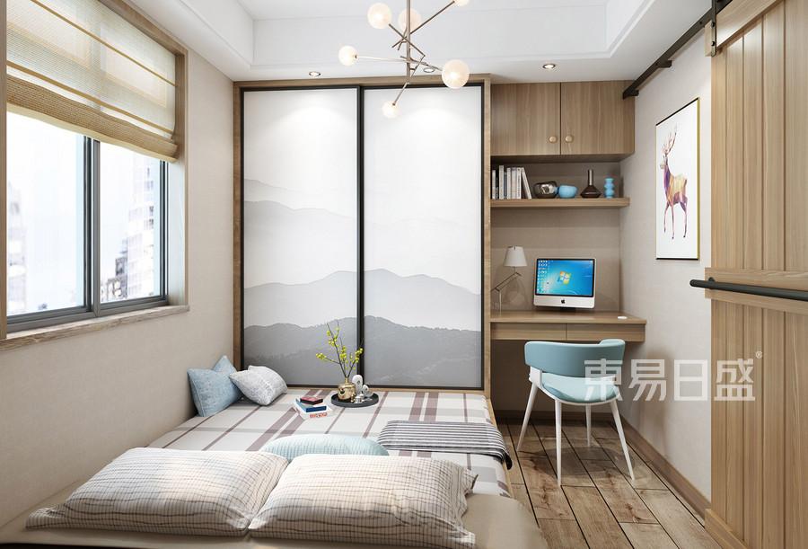 虎门海运轩三房现代风格儿童房装修效果图