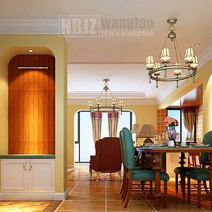 门厅玄关鞋帽柜一体的设计兼具收纳功能