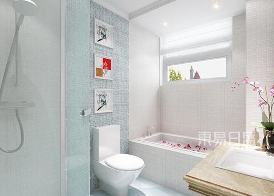 东郊罗兰 新古典 卫生间 装修效果图案例
